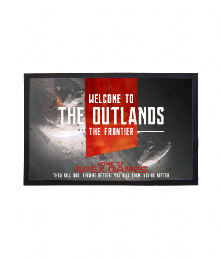 The Outlands Frontier Doormat Inspired by Apex Legends & Titanfall